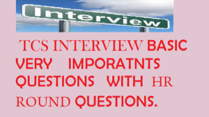 TCS Interview Questions Of 2020!