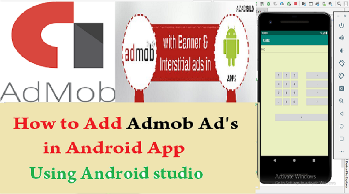 How to make Calculator app in android studio source code