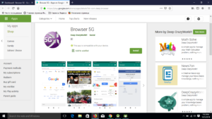 Browser App Android Application using Android Studio