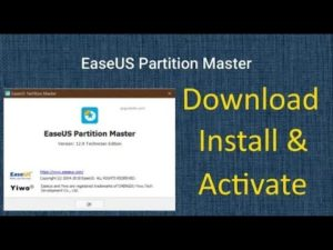 Easeus Partition Master Full Version + License Key | 100% working