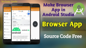 Web Browser Android Application Using Android Studio
