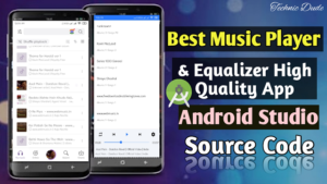 How to make Music Player app in android studio with source code
