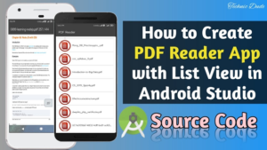 How to make PDF Reader App in Android Studio With Source Code