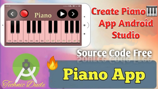 How to make Best Piano App in Android Studio with source code