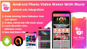 How to make Photo Video Maker app With Music in android studio