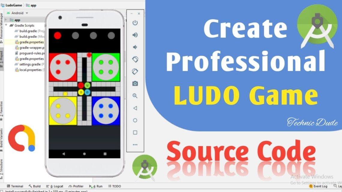 How to Create Ludo Game app with Android Studio