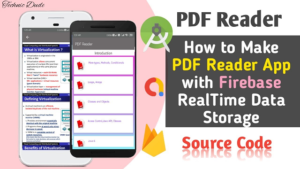 Make PDF Reader with Firebase in Android Studio – Earn Money