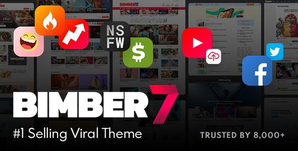 Free Download Bimber v8.5.1 WordPress Theme Activated