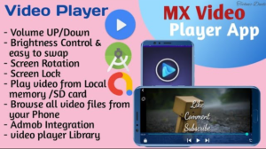 How to make MX Video Player App in Android studio