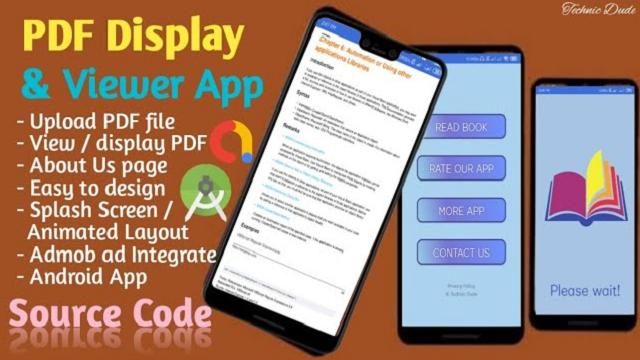 How to display PDF in android studio   PDF Viewer in android app