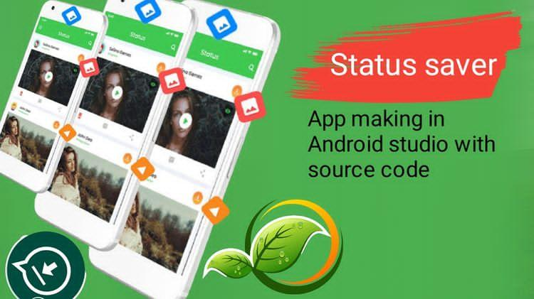 Whatsapp Status Saver & Downloader With AdMob Ads android app