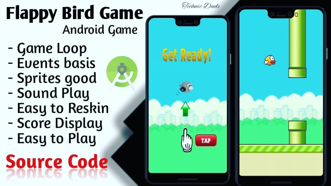 Flappy Bird Source Code: Make Your Own Flappy Bird Game App