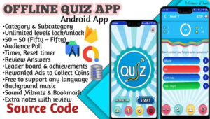 Quiz App- Make Offline Quiz App with category wise in Android studio