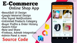 How to Create E-Commerce / Online Shop App with Admin Panel