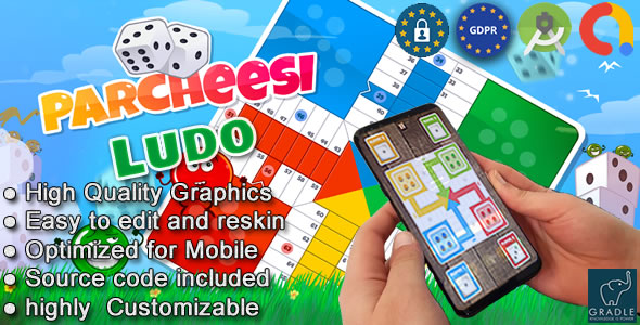 Make Ludo Game App(Android studio + Admob + GDPR)