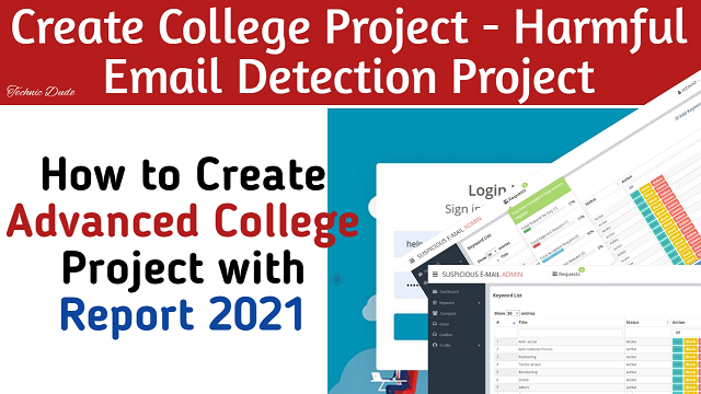 College Project || Harmful E-mail Detection Project